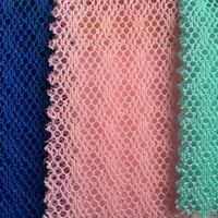 3d Spacer Lurex Mesh Fabric